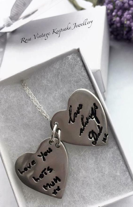 Jewellery Fingerprints Necklace