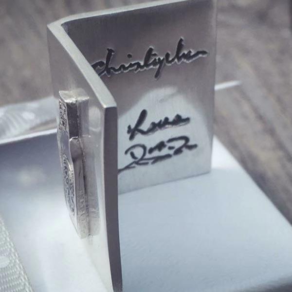 Handwritten Jewellery